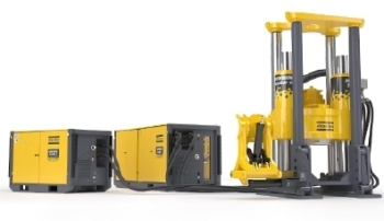 Extended Multipurpose Raise Drill – The Robbins 53RH EX from Atlas Copco