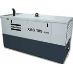 XAS 185 JDU6 Oil-injected Rotary Screw Compressor from Atlas Copco