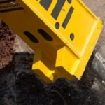 The RB1450 HD Two Section Pedestal Boom from Atlas Copco