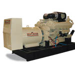 Industrial Diesel Liquid Cooled Generators from Baldor Electric Company