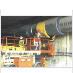 Underground Mine Ventilation and Vent systems from DAVID MOSS CORPORATION
