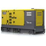 Portable Diesel Powered Generating Sets from Atlas Copco