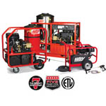 Industrial-grade Pressure Washers from Hotsy Cleaning Systems