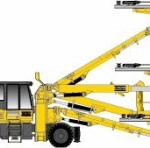 Boomer WE3 C Equipped with COP 3038: Face Drilling Rig from Atlas Copco