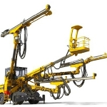 Boomer XE3 C Equipped with COP 3038 from Atlas Copco