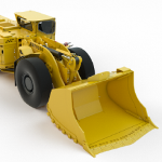 Electrical Underground Mine Loader The Scooptram EST1030 from Atlas Copco