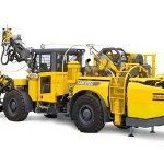 Long-Hole Drilling and Cable Bolting Rig with Integral Cement Handling System - Cabletec LC from Atlas Copco