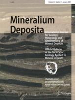 Mineralium Deposita: International Journal for Geology, Mineralogy and Geochemistry of Mineral Deposits
