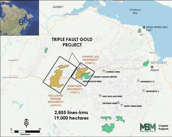 Puma Begins Geophysical Survey on its Triple Fault Gold Project