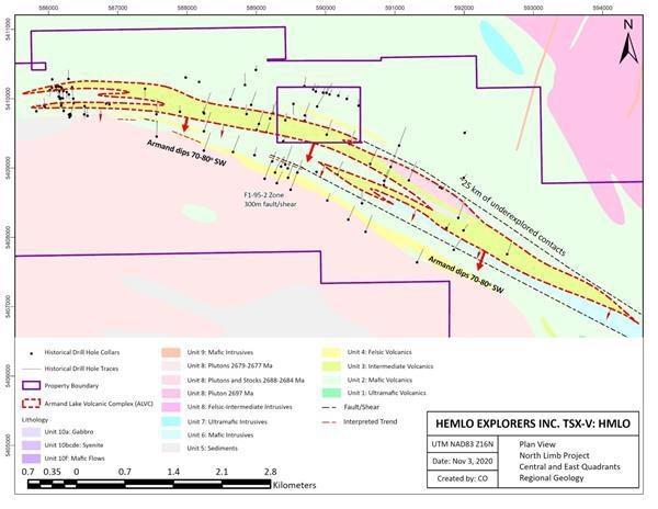 Hemlo Starts Drilling at its North Limb Project in Manitouwadge, Ontario