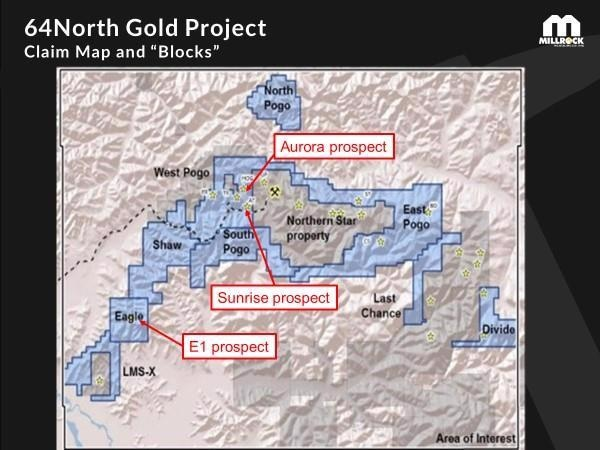 Millrock Announces Assay Results from West Pogo and Eagle Blocks