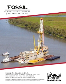 Fossil Oil to Commence Offshore Drilling Operations in August 2015