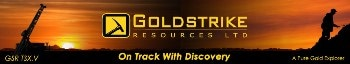 Goldstrike Reports Visible Gold at Goldstack