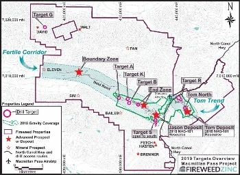 Fireweed Zinc Provides Exploration Update on Macmillan Pass Zinc Project
