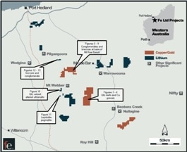 FE Limited Ends Reconnaissance Trips in Macarthur Minerals' Pilbara Projects