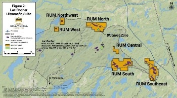 Three New Nickel-Copper-PGE Targets Added to Balmoral's RUM Project, Quebec