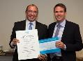 Development Team at Atlas Copco Receives Environmental Award 2012