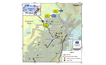Standard Uranium Acquires Two New Projects in the Eastern Athabasca Basin