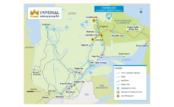 Imperial Mining Begins Sampling, Mapping Activities on Crater Lake Scandium Project