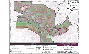 Fireweed Accelerates Exploration Work at Macmillan Pass Zinc Project in Yukon
