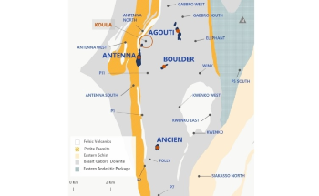 Roxgold Announces New High Grade Discovery at Séguéla Hitting 19m at 26.1 GPT Au and 12m at 32.1 GPT Au at Koula Prospect