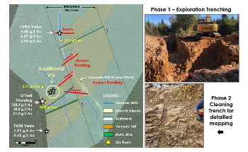 Puma Exploration Discovers More Visible Gold at Williams Brook Property