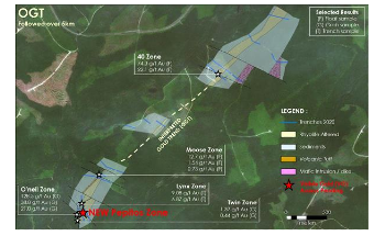 Puma Discovers Quartz Vein Network on the Williams Brook Gold Property
