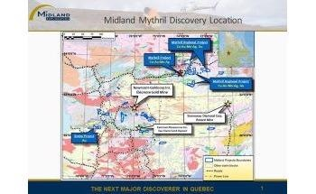 Midland Resumes Exploration Work on Mythril Project