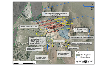 American Pacific Announces Exploration Plans at Madison Copper Gold Project
