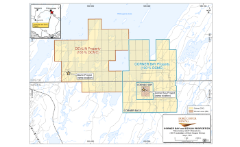 Doré Copper Signs Option Agreement with VanadiumCorp for Cornerback Property