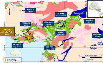 Angus Gold Reports the Start of First Drill Program on Golden Sky Project