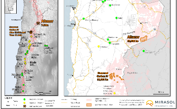 Mirasol Resources Offers Updates on Altazor and Gorbea Gold Projects in Chile