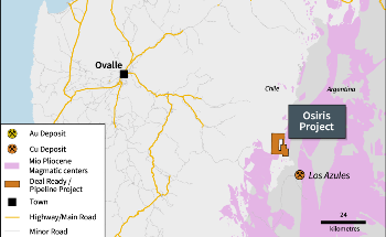 Mirasol Resources to Begin Copper Mining at the Osiris Project in Chile