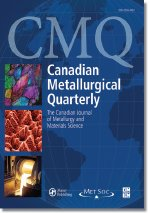 Canadian Metallurgical Quarterly