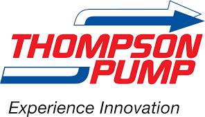 Thompson Pump logo.