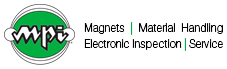 Magnetic Products, Inc. logo.