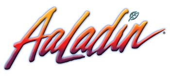 Aaladin Cleaning Systems logo.