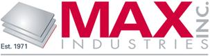 Max Industries Inc. logo.