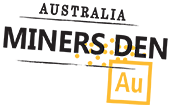 Miners Den Australia logo.