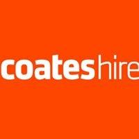 Coates Hire logo.
