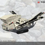 Terex Finlay Unveils 863 Mobile Tracked Heavy Duty Screen