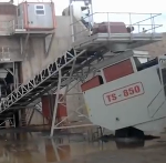 Telestack Installs Stockpiling, Reclaiming and Barge-Loading System for London Mining