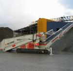 Telestack TU 515 Mobile Radial Truck Unloader